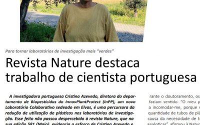 Nature destaca trabalho de cientista do InPP