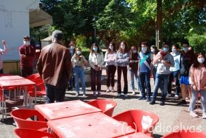Peddy paper de jovens no Jardim Municipal de Elvas