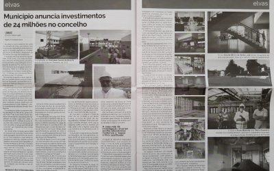 Município anuncia investimentos de 24 milhões no concelho